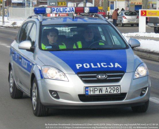 Policja Warszawa: Zamaskowany, z nożem w ręku napadł na sklep, został zatrzymany