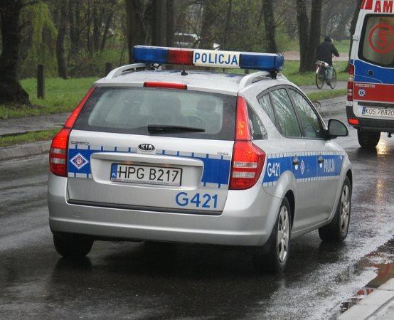Policja Warszawa: Pomoc dla Huberta