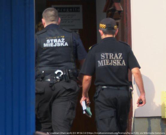 SMW Warszawa:  Młody rowerzysta stracił przytomność. Zaopiekowali się nim strażnicy